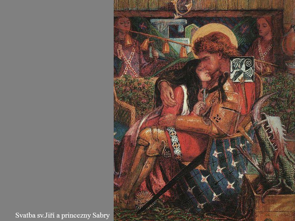 Svatba sv.Jiří a princezny Sabry