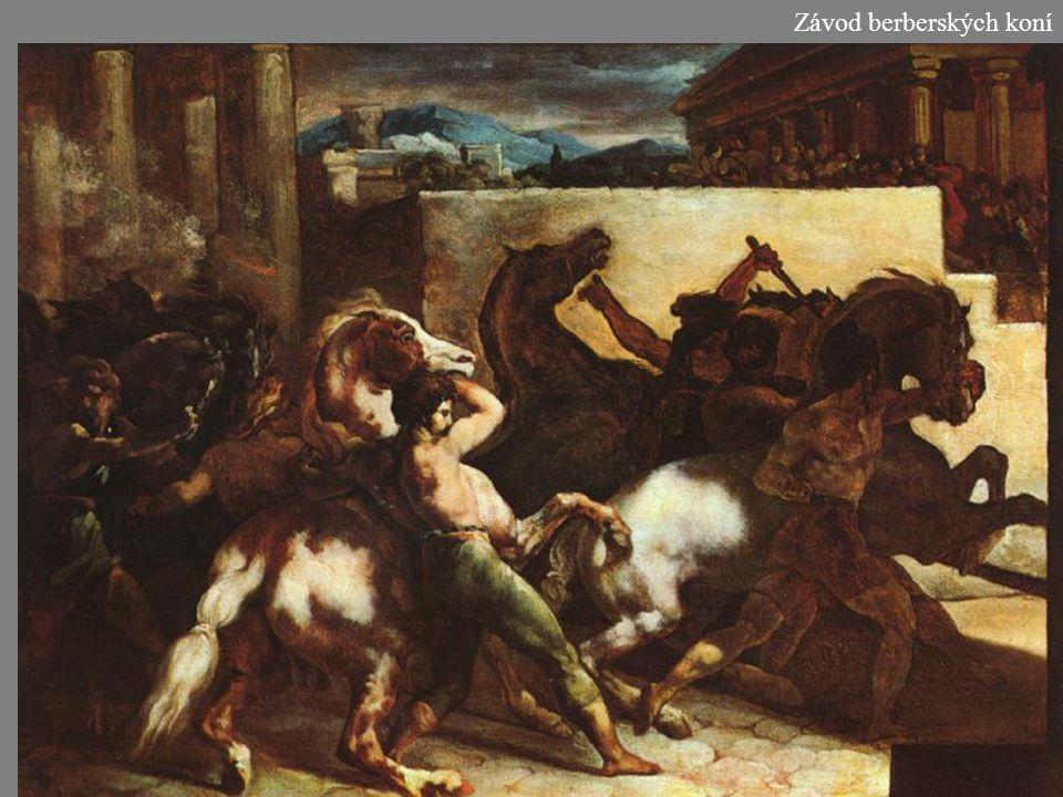 Závod berberských koní