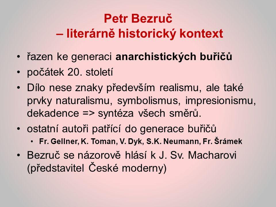 Petr Bezruč – literárně historický kontext