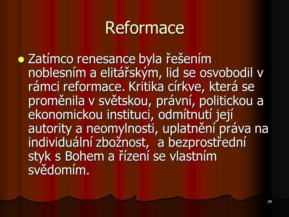 Reformace
