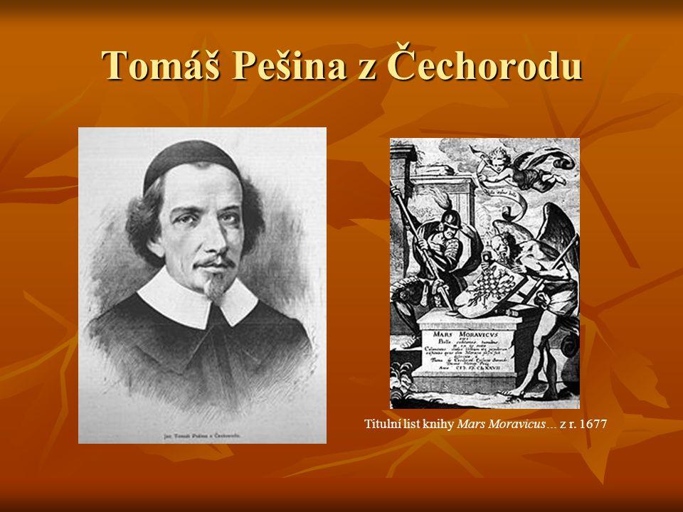 Tomáš Pešina z Čechorodu