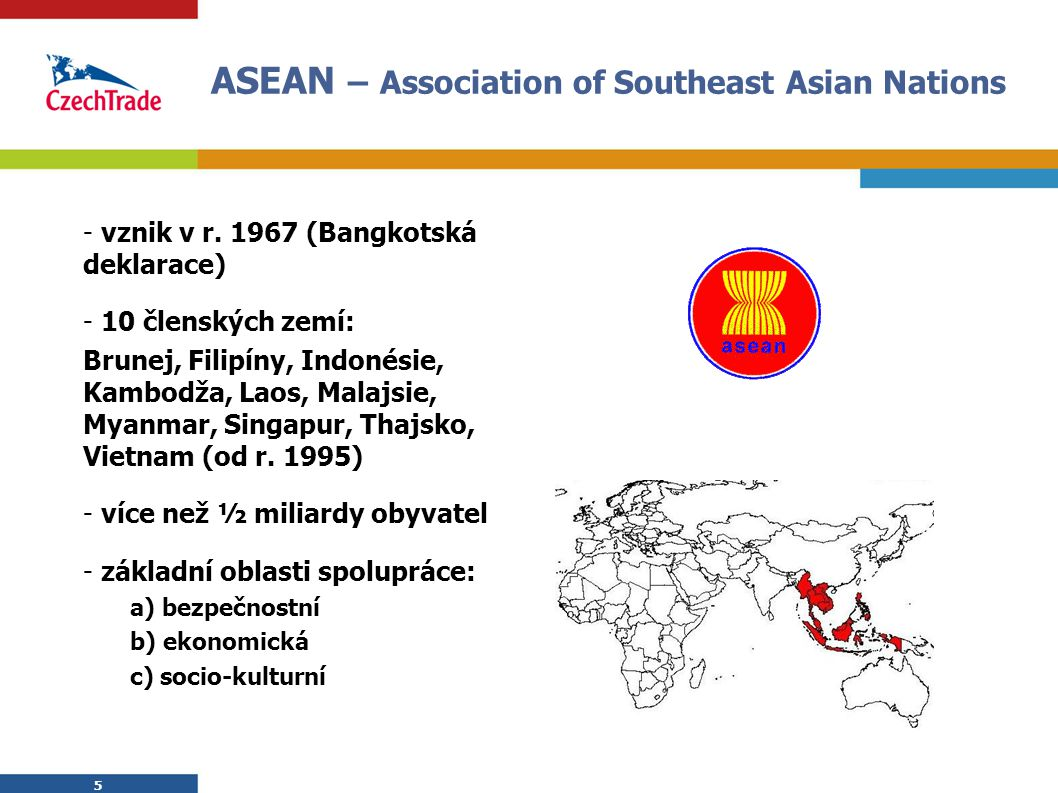 ASEAN – Association of Southeast Asian Nations