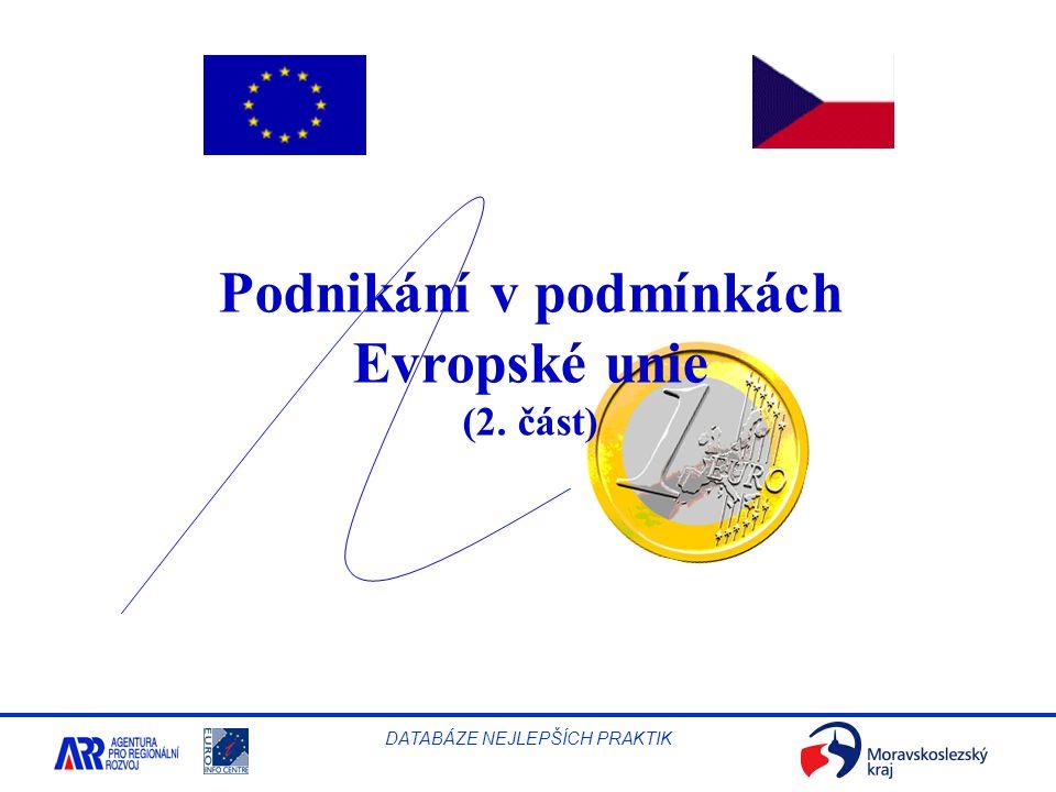 Podnikání v podmínkách Evropské unie