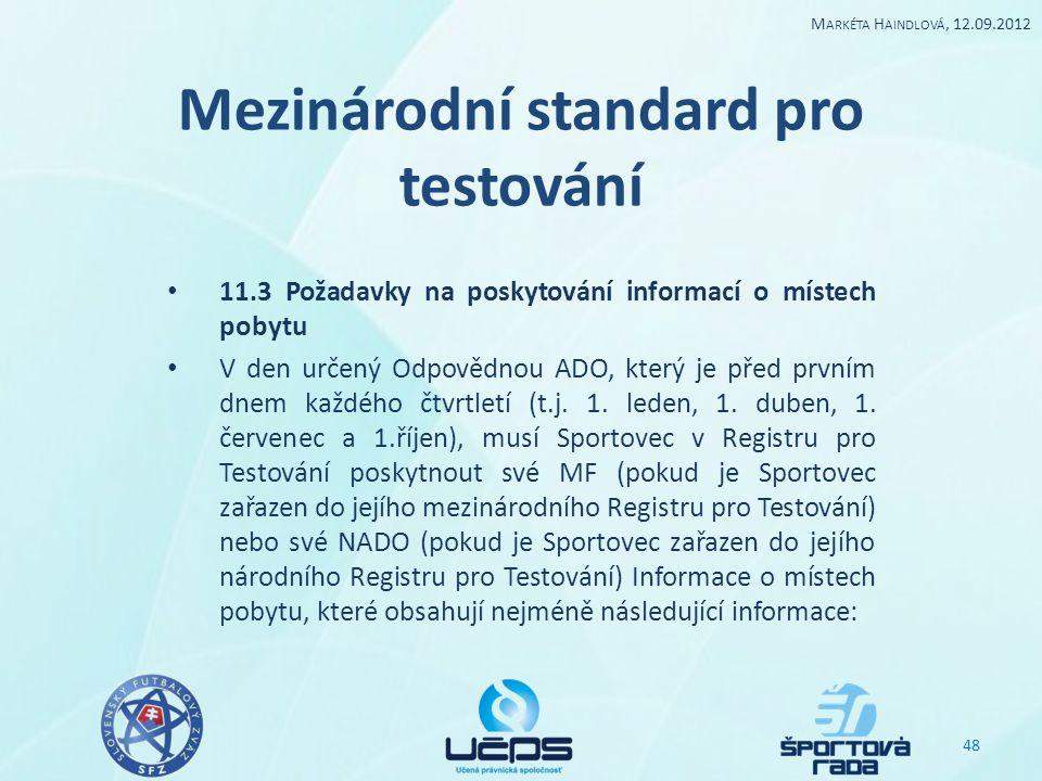 Mezinárodní standard pro testování