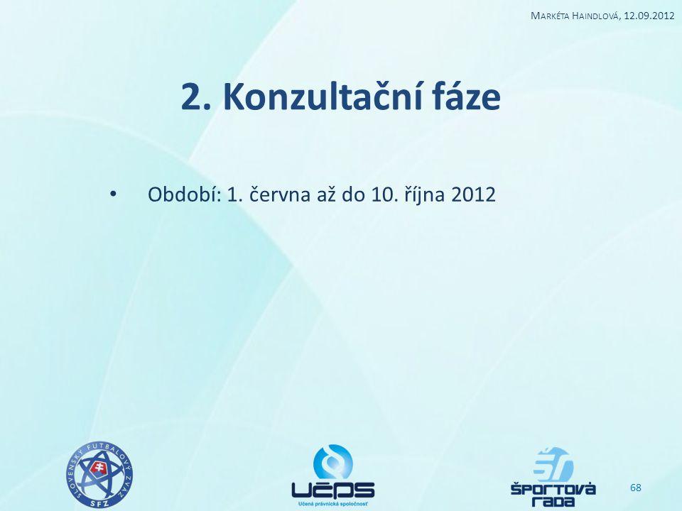 Období: 1. června až do 10. října 2012