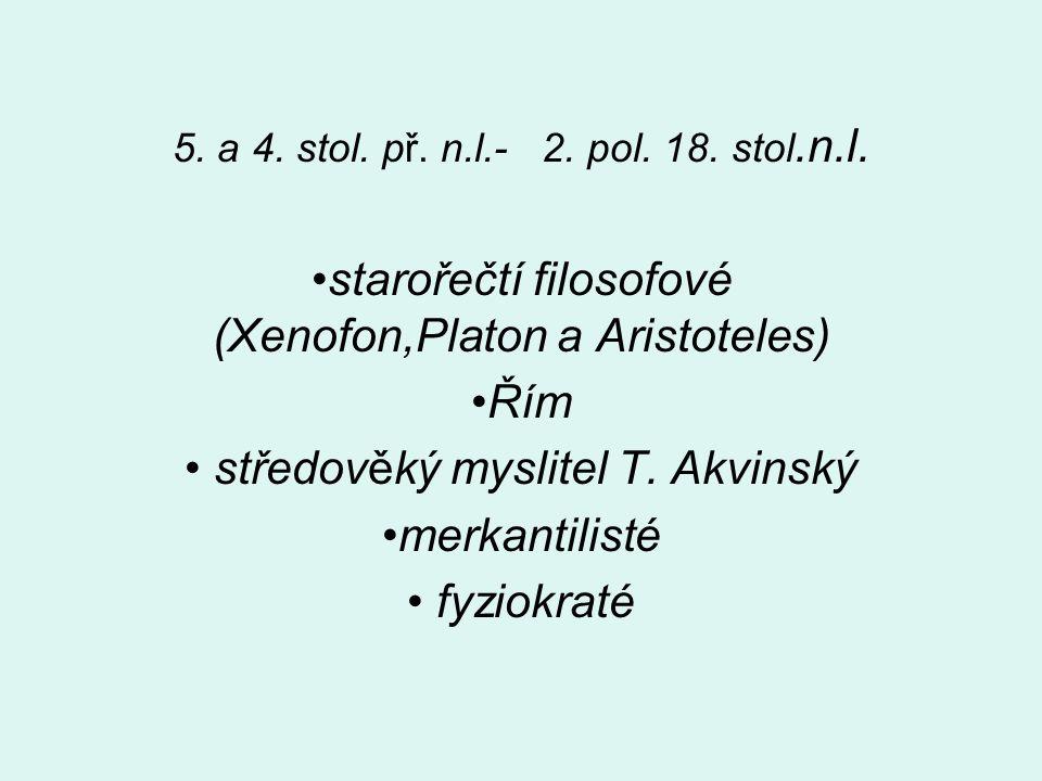 starořečtí filosofové (Xenofon,Platon a Aristoteles) Řím