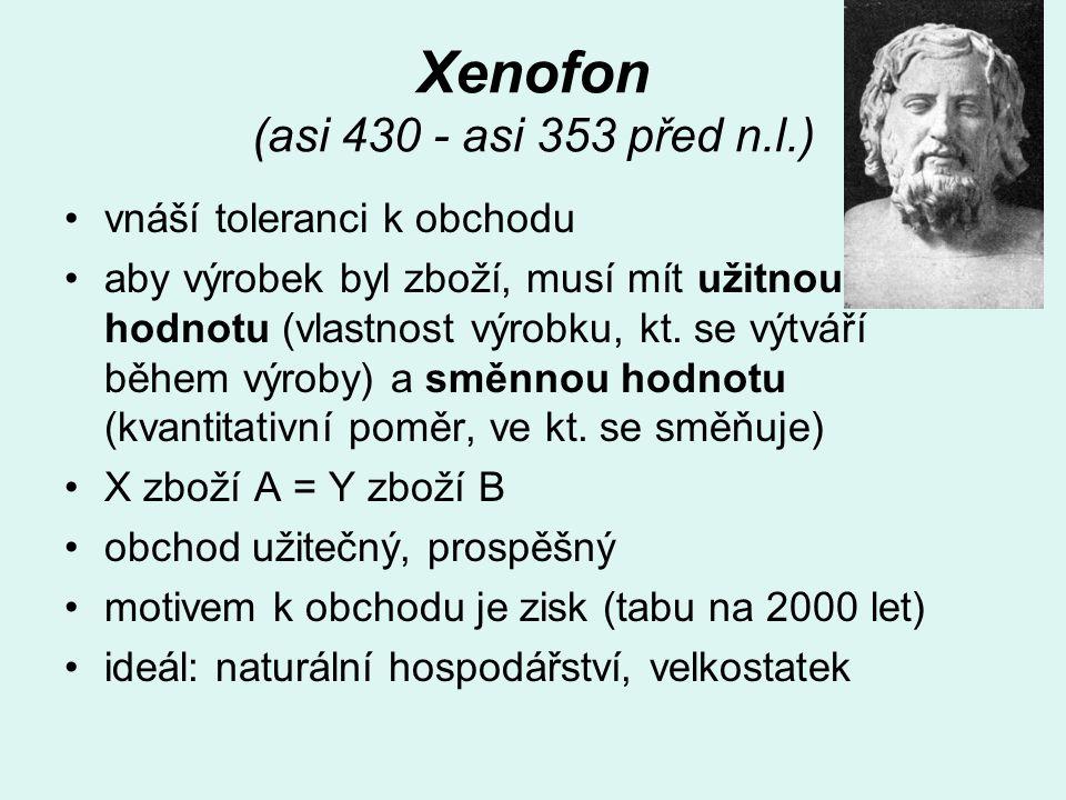 Xenofon (asi 430 - asi 353 před n.l.)