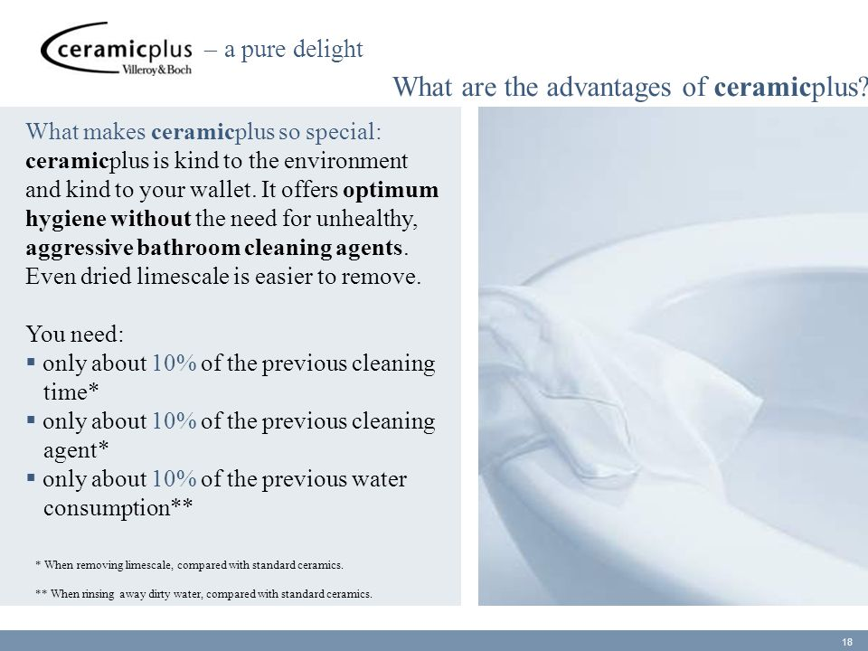 What are the advantages of ceramicplus