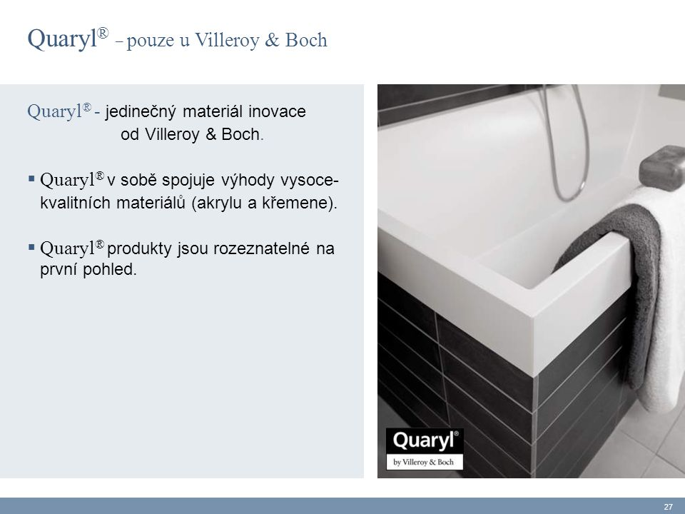 Quaryl® _ pouze u Villeroy & Boch