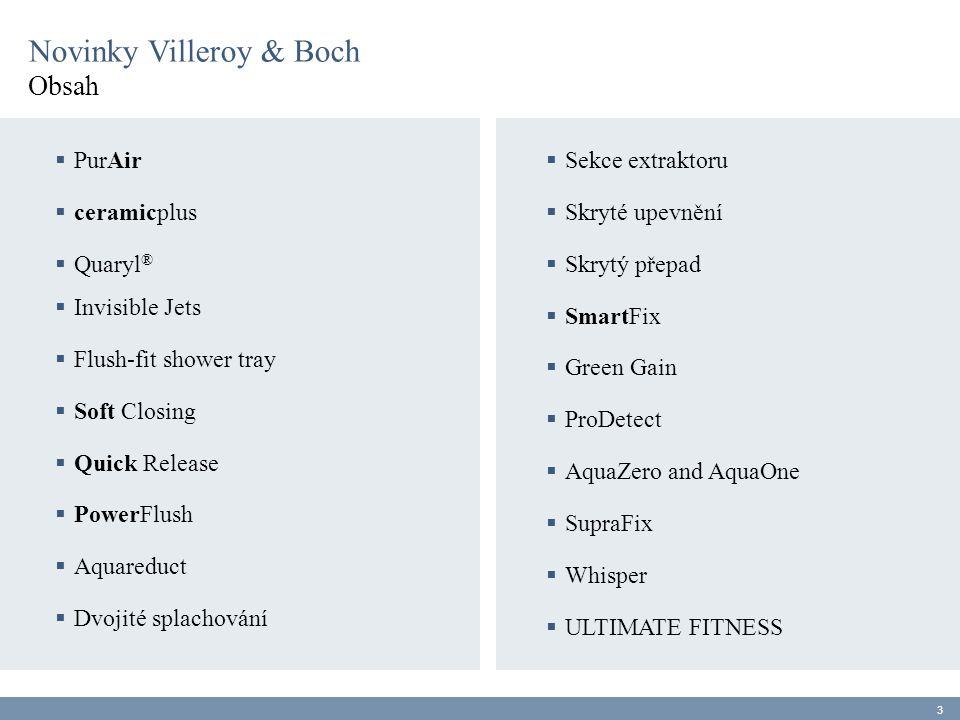 Novinky Villeroy & Boch