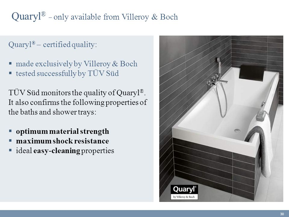 Quaryl® _ only available from Villeroy & Boch