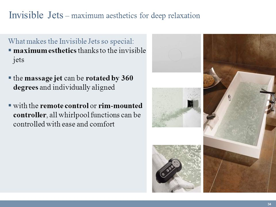 Invisible Jets – maximum aesthetics for deep relaxation