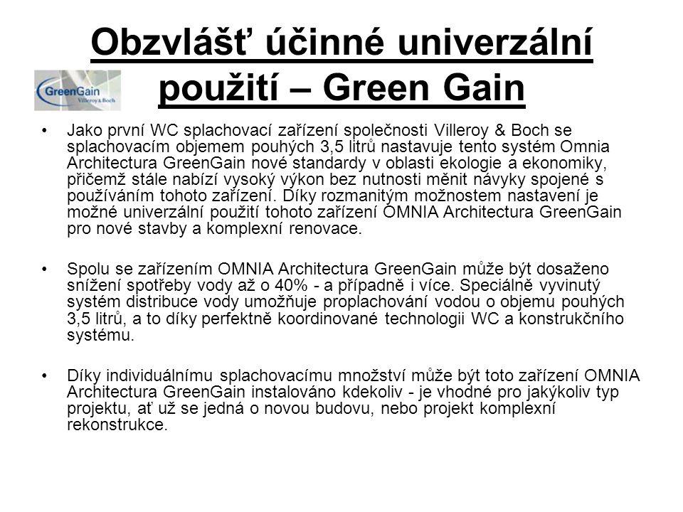 Obzvlášť účinné univerzální použití – Green Gain