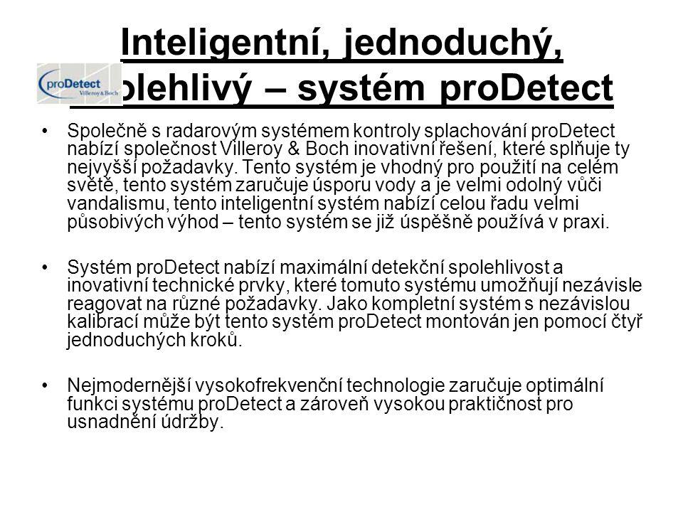 Inteligentní, jednoduchý, spolehlivý – systém proDetect