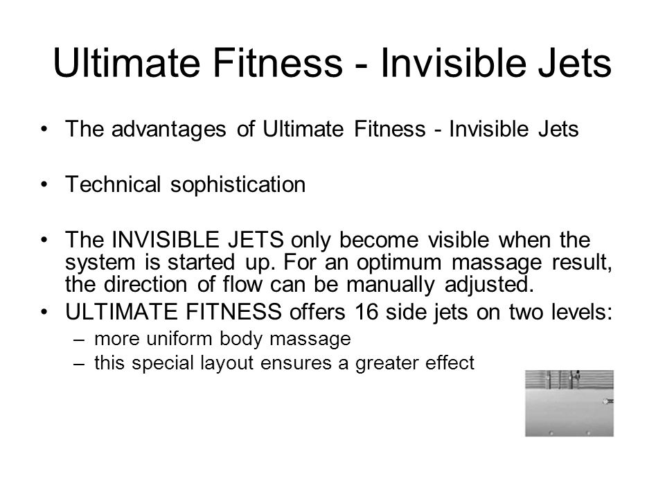 Ultimate Fitness - Invisible Jets