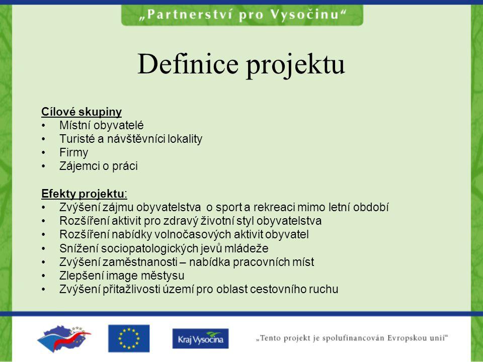 Definice projektu Cílové skupiny Místní obyvatelé