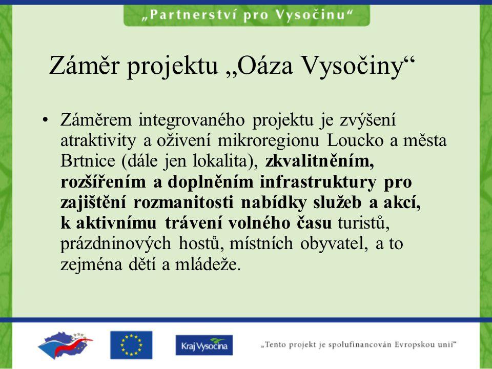 """Záměr projektu """"Oáza Vysočiny"""