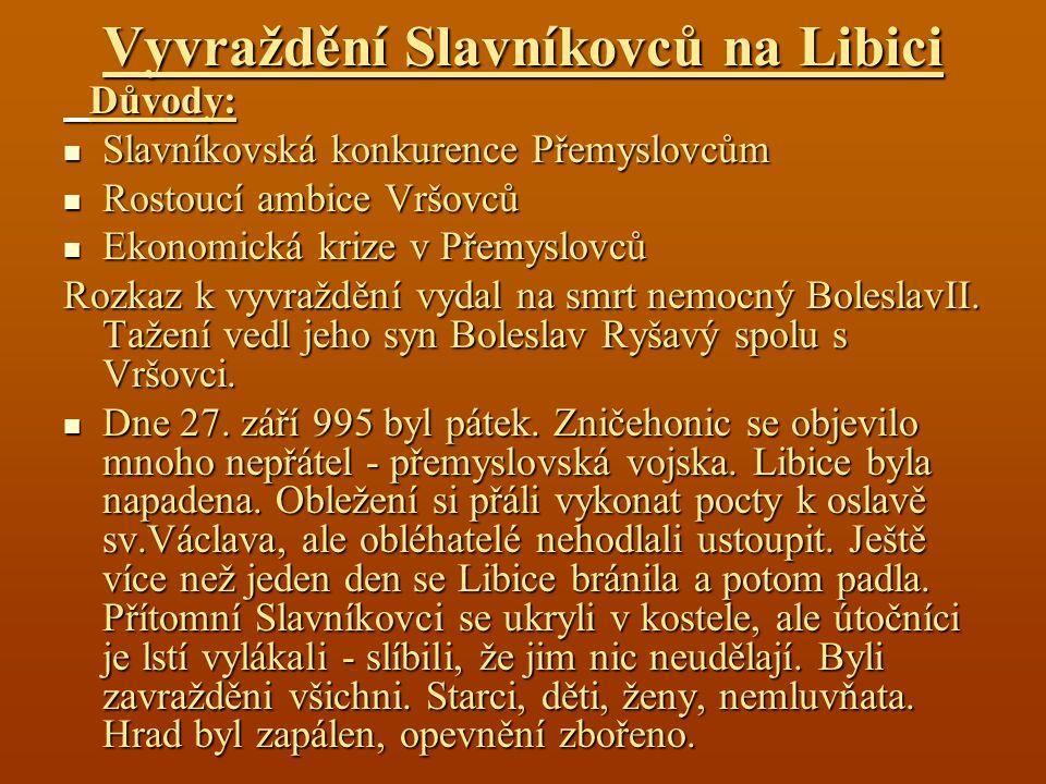 Vyvraždění Slavníkovců na Libici