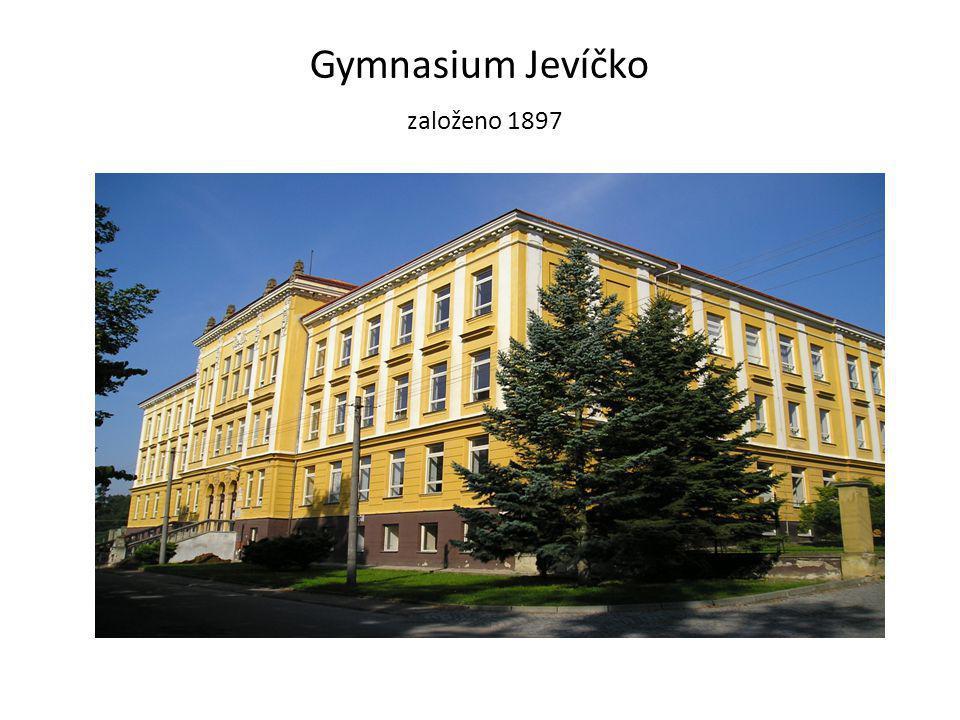 Gymnasium Jevíčko založeno 1897