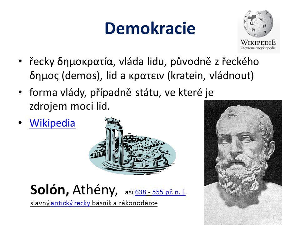 Demokracie Solón, Athény, asi 638 - 555 př. n. l.