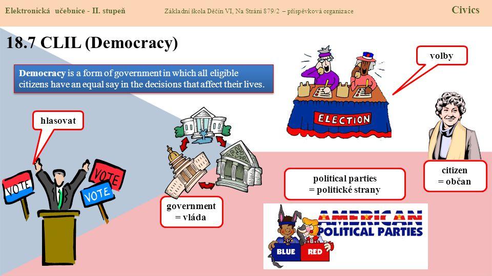 18.7 CLIL (Democracy) volby