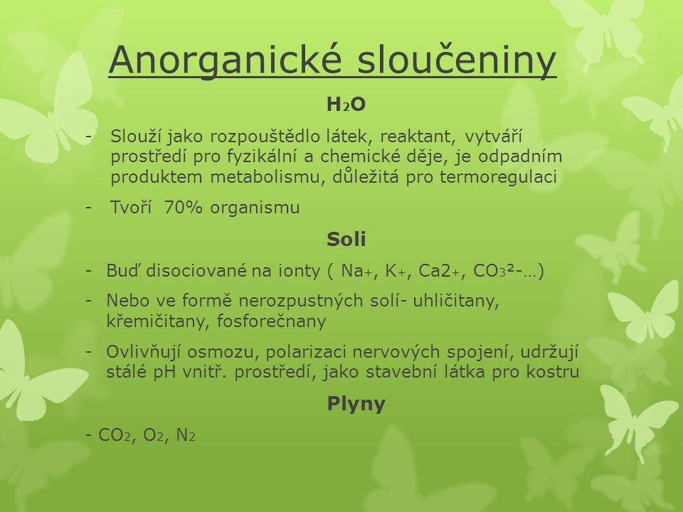 Anorganické sloučeniny