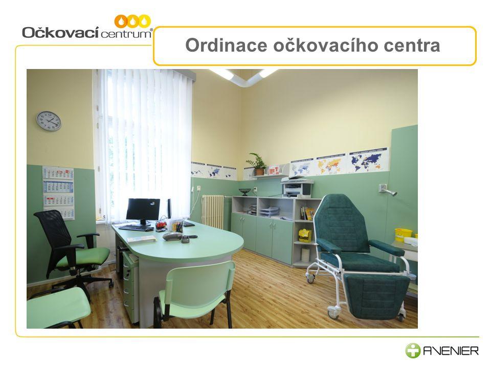 Ordinace očkovacího centra