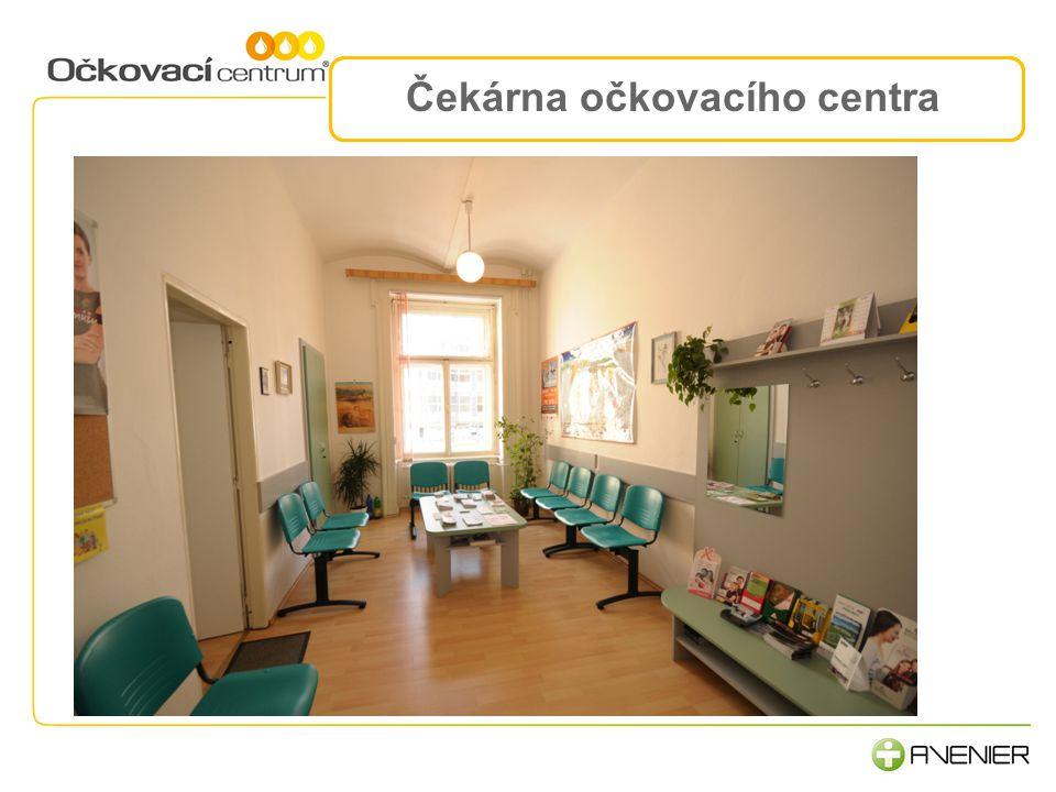 Čekárna očkovacího centra