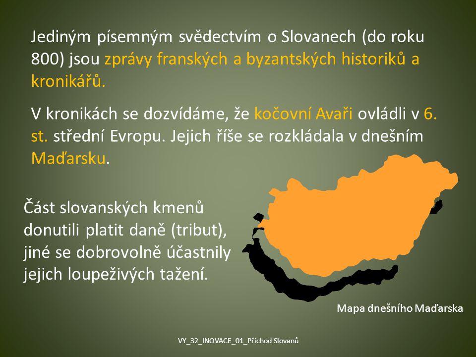 VY_32_INOVACE_01_Příchod Slovanů