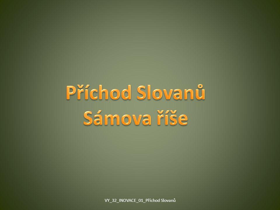 Příchod Slovanů Sámova říše