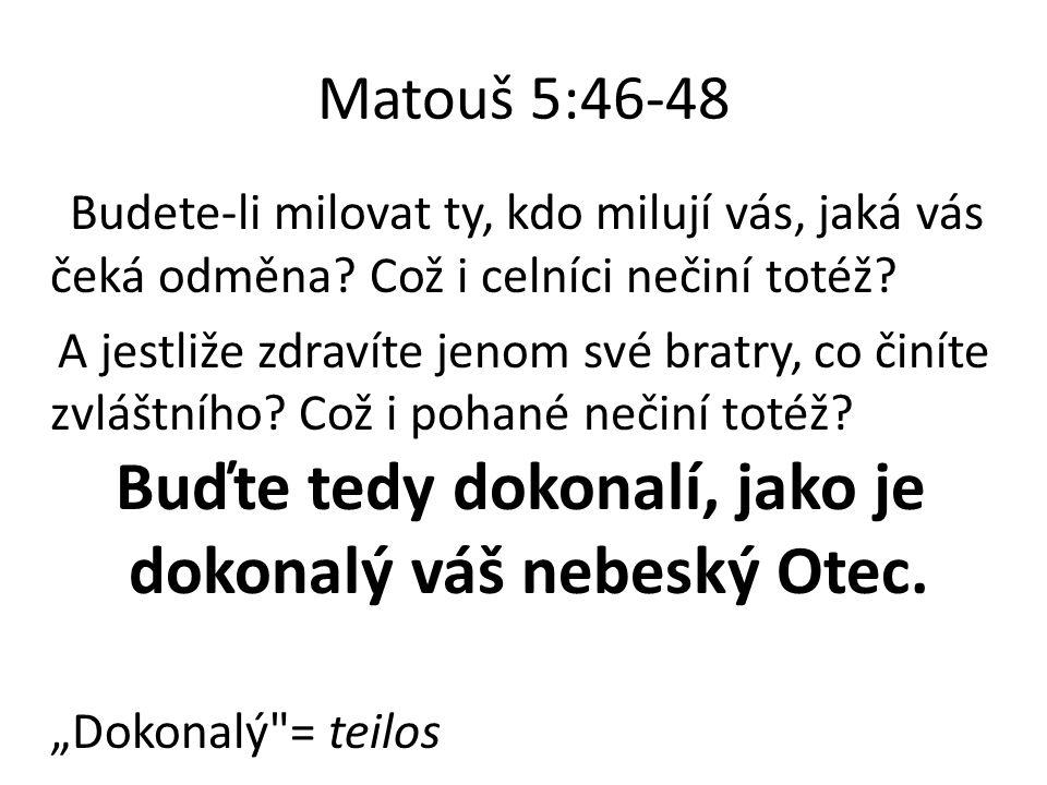 Matouš 5:46-48