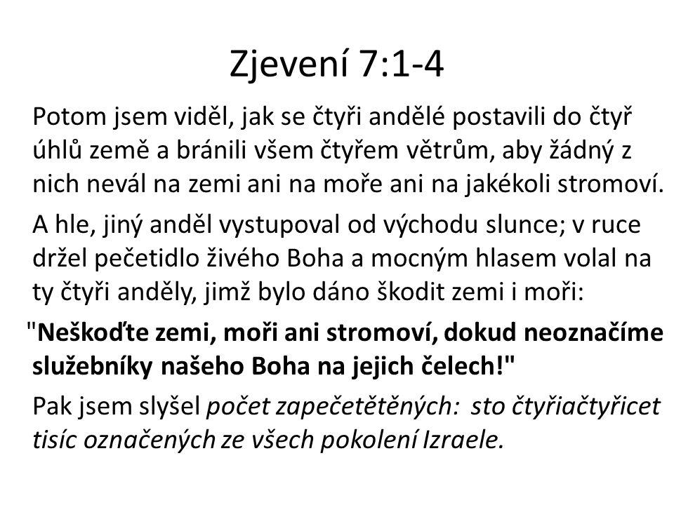 Zjevení 7:1-4