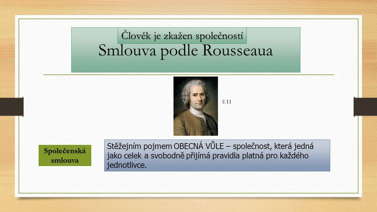 Smlouva podle Rousseaua