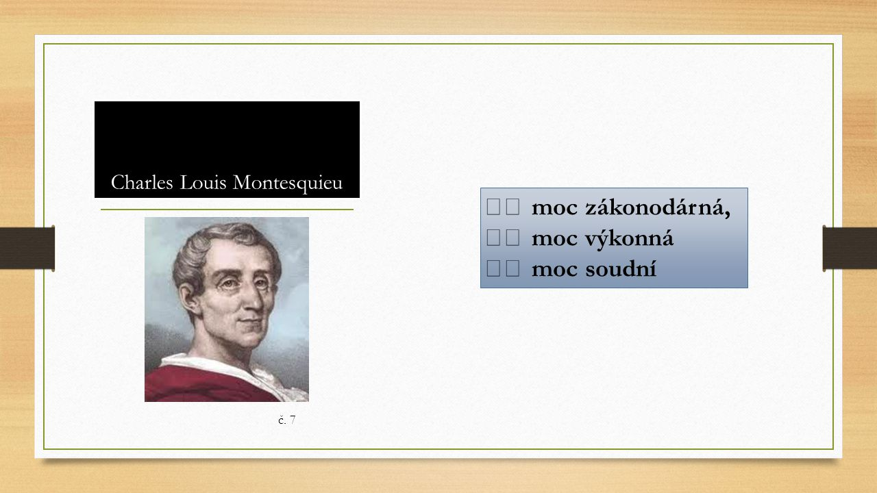 Charles Louis Montesquieu