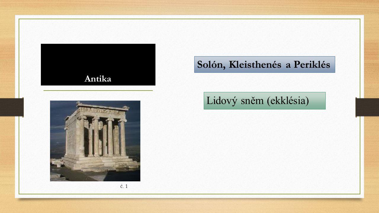 Solón, Kleisthenés a Periklés