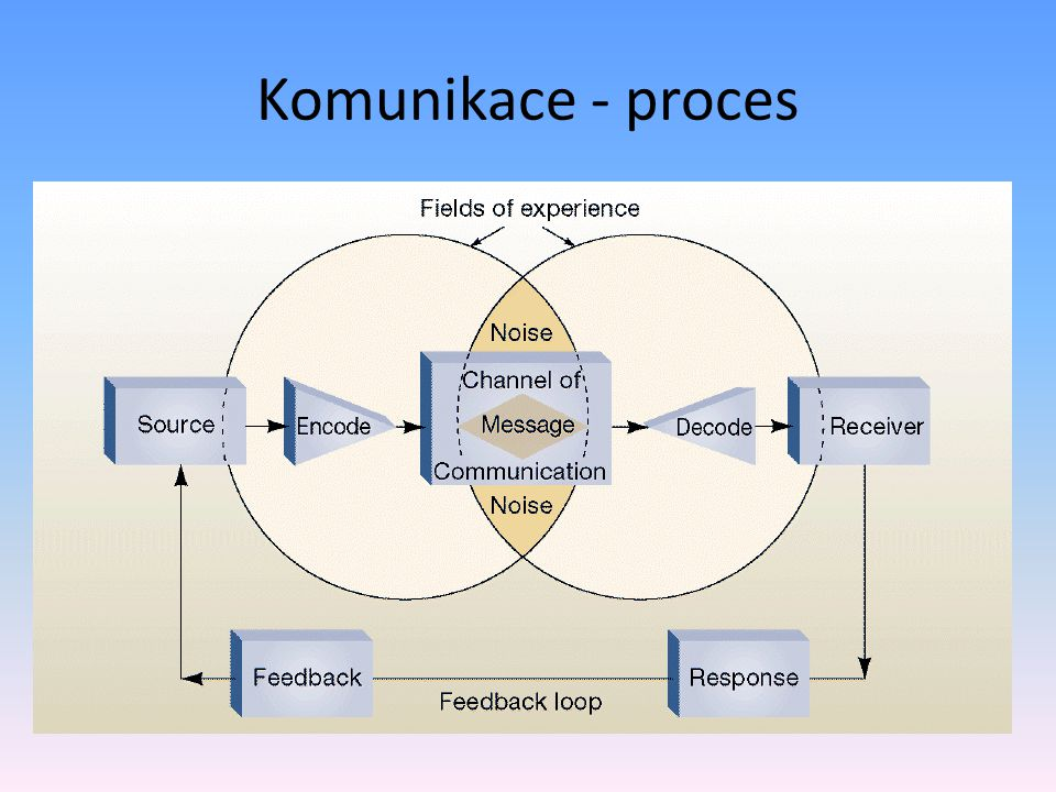 Komunikace - proces