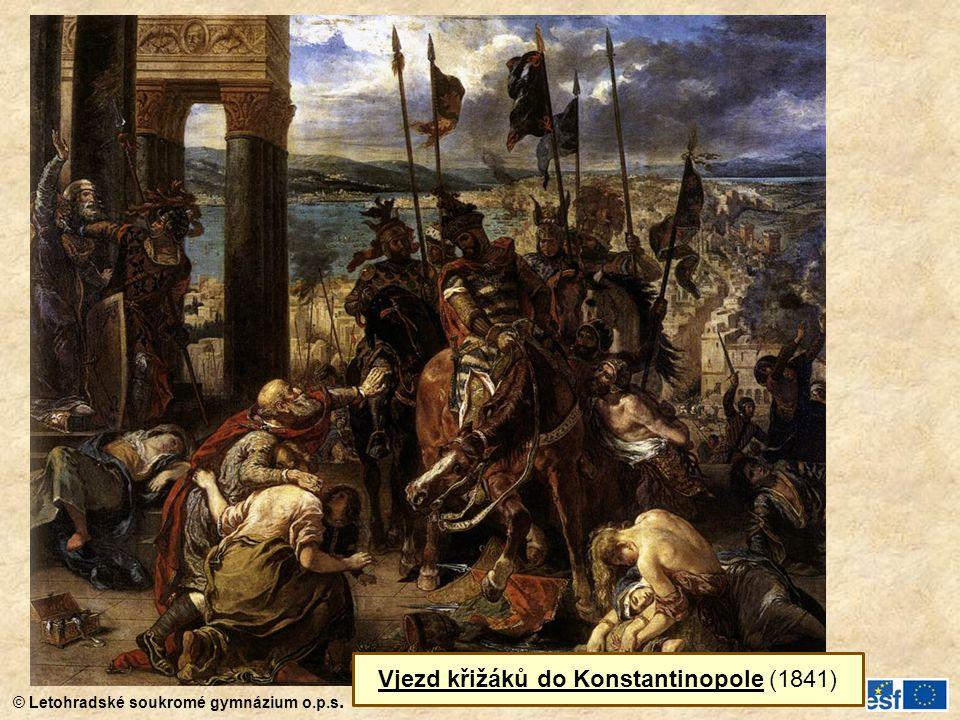 Vjezd křižáků do Konstantinopole (1841)