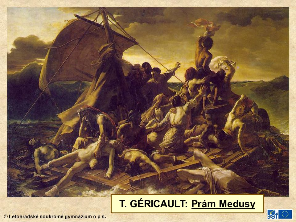 T. GÉRICAULT: Prám Medusy