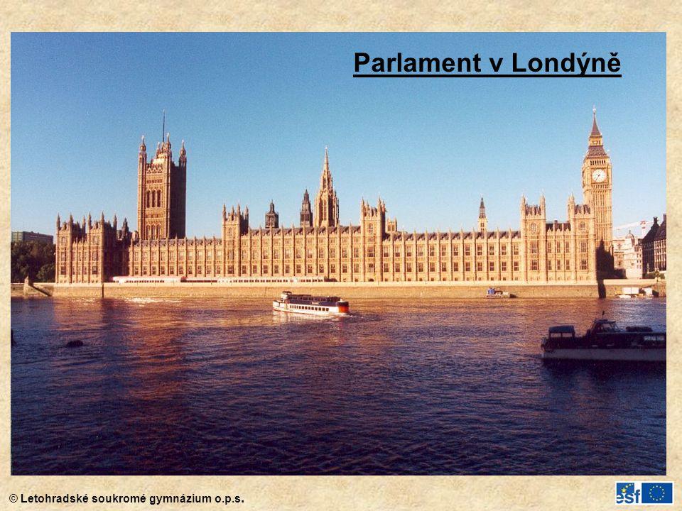 Parlament v Londýně