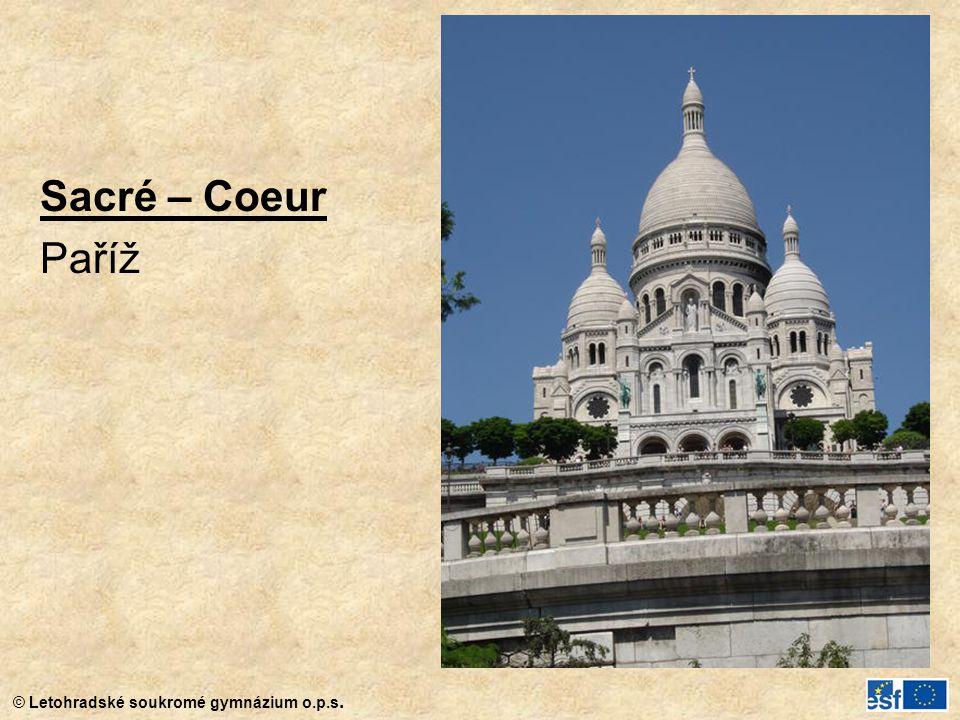 Sacré – Coeur Paříž