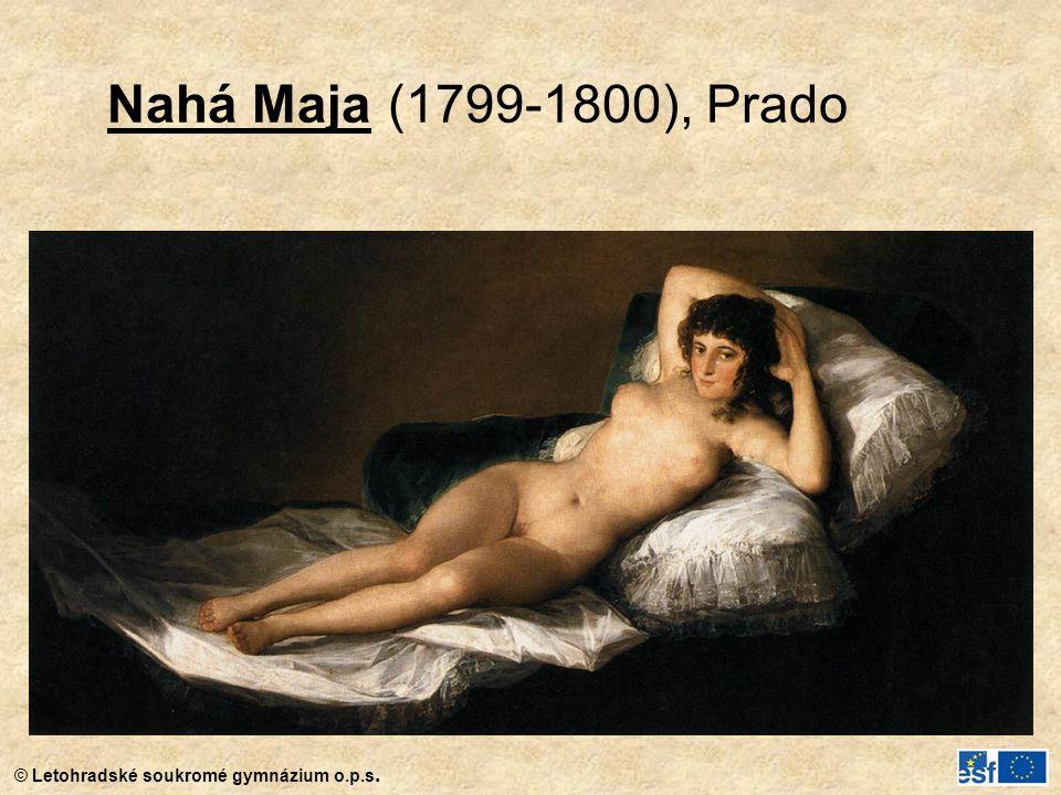 Nahá Maja (1799-1800), Prado