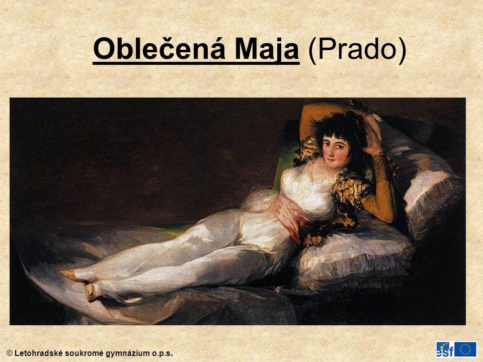 Oblečená Maja (Prado)
