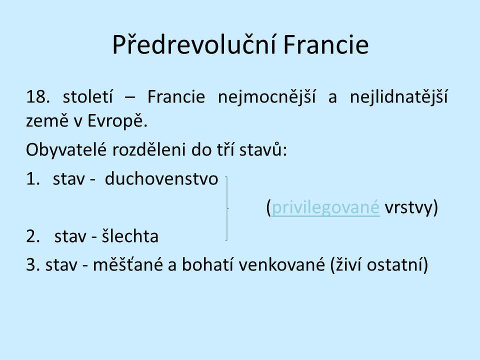Předrevoluční Francie