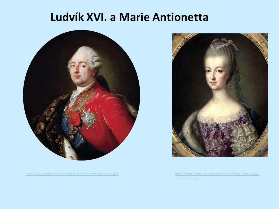 Ludvík XVI. a Marie Antionetta