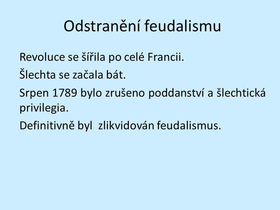 Odstranění feudalismu