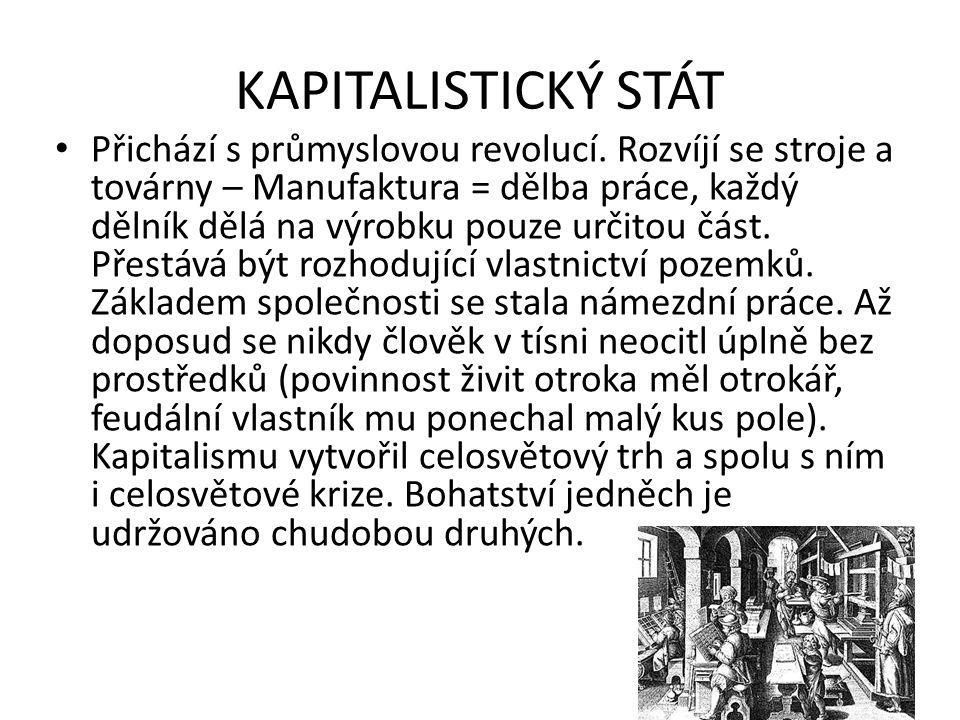 KAPITALISTICKÝ STÁT