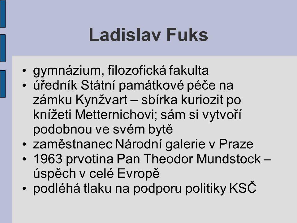 Ladislav Fuks gymnázium, filozofická fakulta