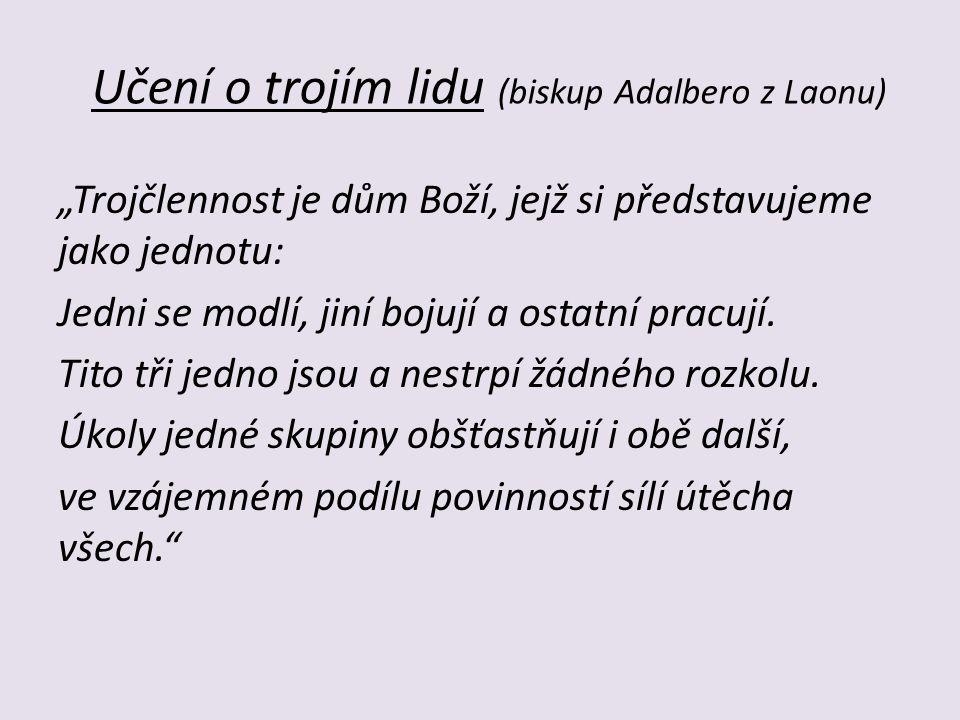 Učení o trojím lidu (biskup Adalbero z Laonu)
