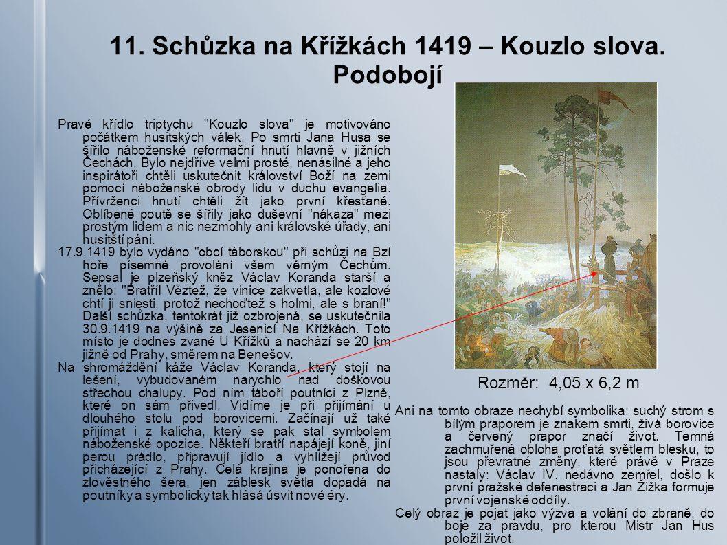 11. Schůzka na Křížkách 1419 – Kouzlo slova. Podobojí