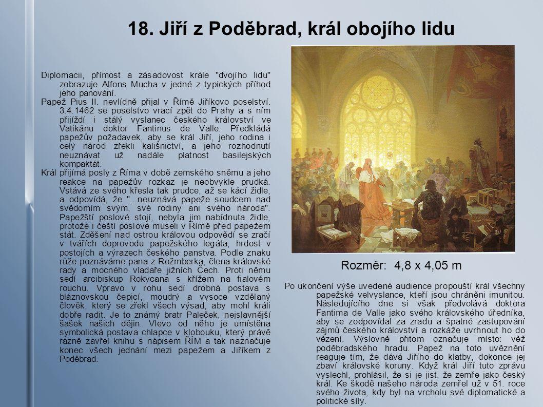 18. Jiří z Poděbrad, král obojího lidu